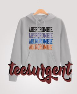 Abercrombie And Fitch Aberrombie Text Hoodie