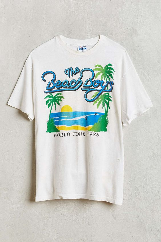 Vintage Beach Boys T-shirt DN
