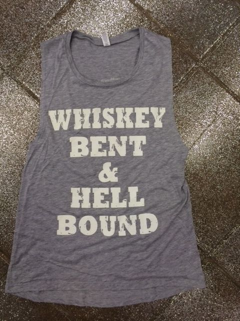 WHISKEY TANK TOP ZX06